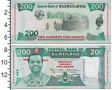 Изображение Банкноты Африка Свазиленд 200 эмаланени 2008  UNC