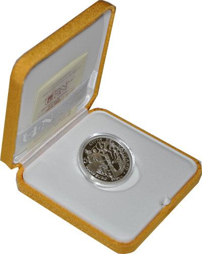Изображение Подарочные монеты Европа Ватикан Международный день мира 2009 Серебро Proof