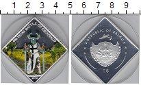 Изображение Мелочь Палау 1 доллар 2010 Посеребрение Proof 600- летие битвы при