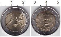Изображение Мелочь Люксембург 2 евро 2007 Биметалл UNC-