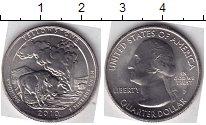 Изображение Мелочь Северная Америка США 1/4 доллара 2010 Медно-никель