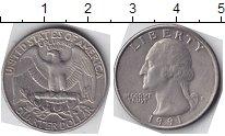 Изображение Мелочь США 1/4 доллара 0 Медно-никель