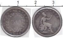 Изображение Монеты Греция Ионические острова 30 лепт 1849 Серебро