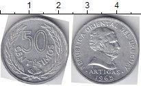 Изображение Мелочь Уругвай 50 сентесим 1965 Алюминий UNC