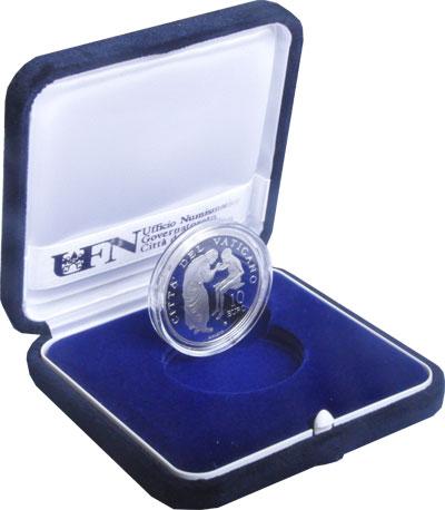 Изображение Подарочные монеты Европа Ватикан Бенедикт 2007 Серебро Proof