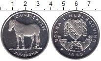 Изображение Мелочь Босния и Герцеговина 1 суверена 1998 Медно-никель UNC Лошадь