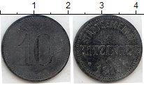 Изображение Нотгельды Китцинген 10 пфеннигов 1917 Цинк  248.2