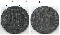 Изображение Нотгельды Ашаффенбург 10 пфеннигов 1917 Цинк  23.2 o