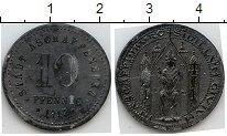 Изображение Нотгельды Ашаффенбург 10 пфеннигов 1917 Цинк  23.2 I