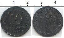 Изображение Нотгельды Ашаффенбург 10 пфеннигов 1917 Цинк  23.2 II o