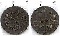 Изображение Нотгельды Вормс 10 пфеннигов 1918 Цинк  613.2 c