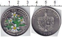 Изображение Мелочь Северная Америка Куба 1 песо 1997 Медно-никель UNC