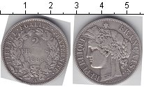 Изображение Монеты Франция 2 франка 1888 Серебро
