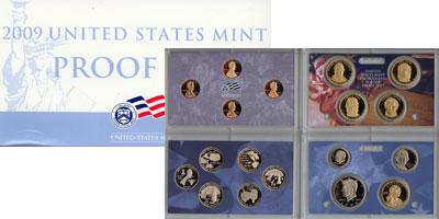 Изображение Подарочные монеты Северная Америка США Выпуск 2009 пруф-сет 2009 Медно-никель Proof