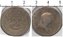 Изображение Монеты Великобритания Эссекуибо и Демерара 2 гуилдерса 1809 Серебро