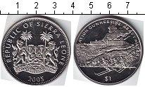 Изображение Мелочь Сьерра-Леоне 1 доллар 2005 Медно-никель UNC-