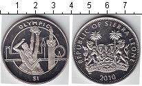 Изображение Мелочь Африка Сьерра-Леоне 1 доллар 2012 Медно-никель UNC