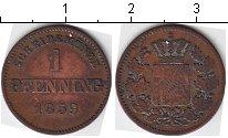 Изображение Монеты Бавария 1 пфенниг 1859 Медь