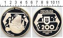 Изображение Монеты Европа Португалия 200 эскудо 1991 Серебро