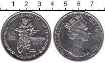 Изображение Мелочь Великобритания Остров Мэн 1 крона 1997 Медно-никель AUNC
