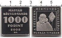 Изображение Мелочь Венгрия 1000 форинтов 2008 Медно-никель Proof Телефон