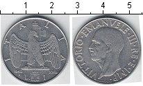Изображение Мелочь Италия 1 лира 1940 Медно-никель XF Витторио Имануил III