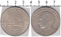 Изображение Монеты Куба 1 песо 1953 Серебро VF 26.7295 g., 0.9000.