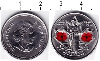 Изображение Мелочь Канада 25 центов 2010 Медно-никель UNC