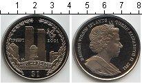 Изображение Мелочь Северная Америка Виргинские острова 1 доллар 2011 Медно-никель UNC-