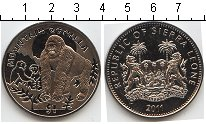 Изображение Мелочь Сьерра-Леоне 1 доллар 2011 Медно-никель UNC