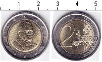 Изображение Мелочь Италия 2 евро 2010 Биметалл  200- лет со дня рожд