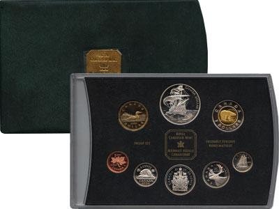 Изображение Подарочные монеты Канада Набор монет 2004 года 2004  Proof