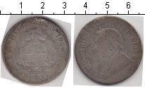 Изображение Монеты ЮАР 2 1/2 шиллинга 1896 Серебро