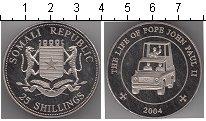 Изображение Мелочь Сомали 25 шиллингов 2004 Медно-никель Proof-