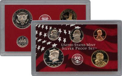 Изображение Подарочные монеты США Набор монет 2003 года в качетсве пруф 2003  Proof