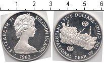 Изображение Монеты Австралия и Океания Соломоновы острова 5 долларов 1983 Серебро Proof-