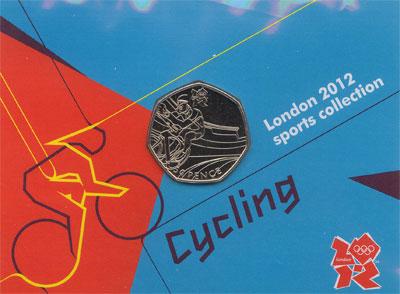 Изображение Подарочные монеты Европа Великобритания 50 пенсов 2011 Медно-никель UNC