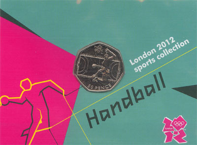 Изображение Наборы монет Великобритания 50 пенсов 2011 Медно-никель UNC