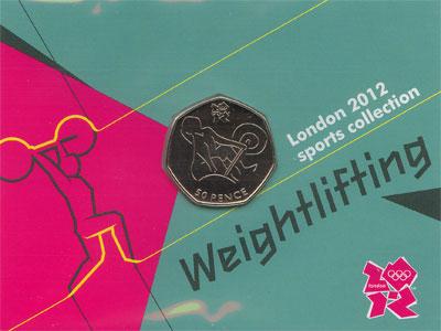 Изображение Подарочные монеты Великобритания 50 пенсов 2011 Медно-никель UNC