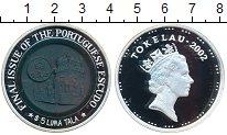 Изображение Монеты Токелау 5 тала 2002  Proof- Португалия