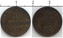 Изображение Монеты Германия Ольденбург 1 грош 1858 Серебро