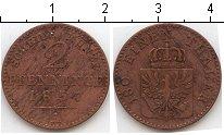 Изображение Монеты Пруссия 2 пфеннига 1857 Медь VF