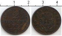 Изображение Монеты Германия Пруссия 2 пфеннига 1859 Медь VF