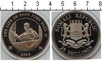 Изображение Мелочь Сомали 25 шиллингов 2004 Медно-никель Proof