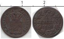 Изображение Монеты Бавария 1 крейцер 1860 Медь VF