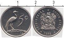 Изображение Мелочь Африка ЮАР 5 центов 0 Медно-никель UNC-