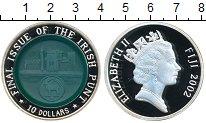 Изображение Монеты Фиджи 10 долларов 2002 Серебро Proof Окончательный вопрос