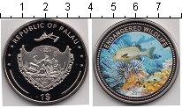 Изображение Мелочь Палау 1 доллар 2011 Медно-никель Proof Подводная жизнь