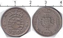 Изображение Монеты Африка Ангола 2 1/2 эскудо 1968 Медно-никель