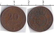 Изображение Монеты Африка Мозамбик 20 сентаво 1961 Медь XF